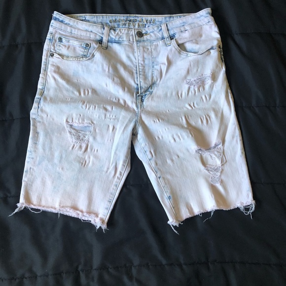 American Eagle Outfitters Other - Custom washed pink A/E cutoffs!!!!!!!!